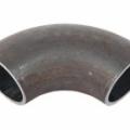 Отвод стальной черный крутоизогнутый
