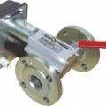 Запорно-регулирующие шаровые краны с электрическим исполнительным механизмом ВКШР